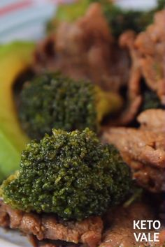 Keto Beef and Broccoli Stir Fry Low Carb Recipe for Ketogenic Diet