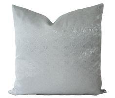 Candice Olsen, Decorative Designer, Aqua Pillow Cover, 18x18 Accent Pillow, Throw Pillow Lumbar Throw Pillow, Pillow Set, Throw Pillows, Pillow Corner, Black And White Birds, Silver Pillows, Pillow Inspiration, Heart Decorations, Handmade Pillows