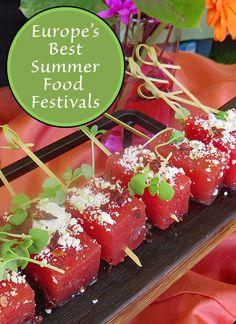 Europe's Best Summer Food Festivals