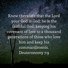 Deut. 7:9