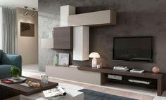 Mueble de salón, que se puede realizar en varios acabados y medidas. En la actualidad esta en exposición.