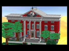 Hill valley 1955 Courthouse lego clocktower