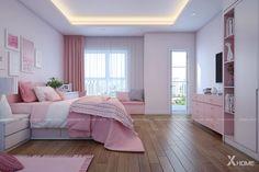 Elegant Girls Bedroom, Fancy Bedroom, Room Design Bedroom, Pretty Bedroom, Girl Bedroom Designs, Room Ideas Bedroom, Home Room Design, Dream Home Design, Bedroom Decor