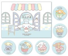 #Cinnamoroll themed café =(^.^)= 渋谷パルコに「シナモロールカフェ」が期間限定オープン! | ニュース・イベント | サンリオ