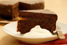 Sacher | Recept na Magdalenka.cz Food And Drink, Dishes, Cooking, Desserts, Cakes, Kitchens, Kitchen, Tailgate Desserts, Deserts