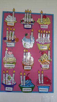 Výsledek obrázku pro služby ve třídě mš Preschool Classroom Decor, Classroom Fun, Classroom Activities, Birthday Display, Sunday School, Pre School, Class Displays, Birthday Charts, English Games