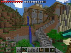 (W2) Iron mill in Minecraft PE