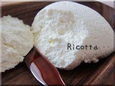 『水切りヨーグルトのホエーから作る・リコッタチーズ』