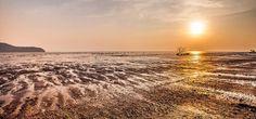 Sunset in Tanjung Dawai, Malaysia