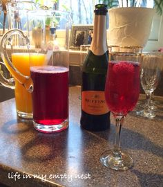 life in my empty nest: Mimosa Bar