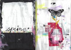 Shelley Lane sketchbook: spring