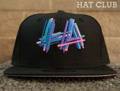 La Shuffle 59Fifty Fitted Baseball Cap By HAT CLUB x NEW ERA x BRANDIOSE
