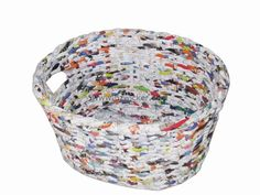 How to Recycle: Recycled Bowls and Baskets