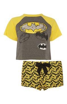 Primark - Batman Crop Top And Short PJ Set £8.00