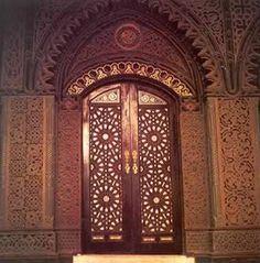 Coptic church doors