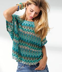 Oh please can we H in south africa now... this top just in their sring collection!