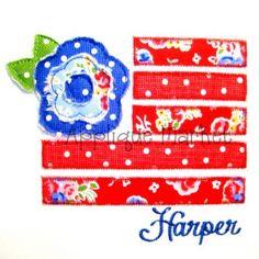 Flag Flower 1