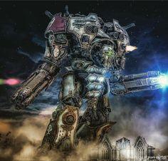 Fallout Weapons, 501st Legion, Imperial Knight, Warhammer 40k Art, Starcraft, God Of War, Titanic, Photoshop, Knights