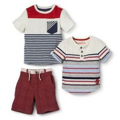 Genuine Kids from OshKosh™ Infant Toddler Boys' July 4th Collection 1