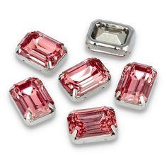 Kamienie ozdobne w metalowym koszyczku do przyszycia. Shine, kamienie, blask, elegancja, połysk, ozdoba, biżuteria 💎💎💎 Cufflinks, Pink, Accessories, Wedding Cufflinks, Pink Hair, Roses, Jewelry Accessories