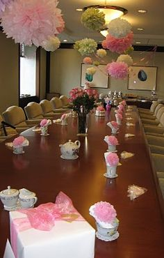 ~ This classy office celebration was shared with us by Jill of Homemade By Jill~  When her coworker was expecting, Jill came up with a classy way to celebrate