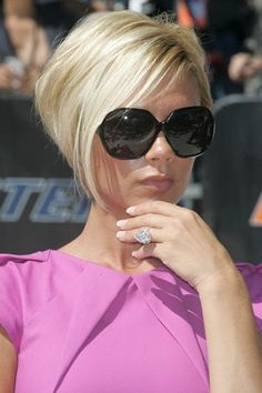 Cute haircut... and ring!