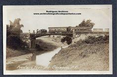 Puente y tren de Bayamon, P. R. - unused c. 1910's