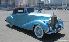 1947 Rolls-Royce Silver Wraith Drophead Coupe by Franay