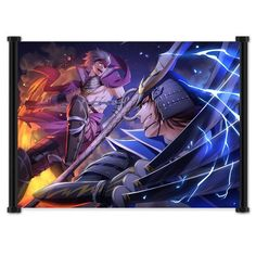 Sengoku Basara Samurai Heroes Anime Game Fabric Wall Scroll Poster (22x16) Inches by Wall Scrolls, http://www.amazon.com/dp/B0054N0HCO/ref=cm_sw_r_pi_dp_ghl0rb09RKPMK