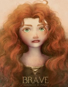 Merida, my fav princess Disney And Dreamworks, Disney Pixar, Walt Disney, Disney Characters, Disney Princesses, Merida Disney, Brave Merida, Httyd, Highlands