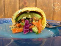 TODAS LAS RECETAS : Tortillas de Vegetales Crujientes