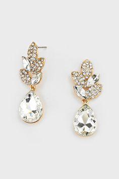 Crystal Delphi Earrings in Illume