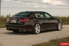 Lexus GS - CV7   VVS-CV5 - Silver Polished - F: 20x9 / R: 20…   Vossen Wheels   Flickr