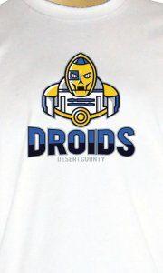 Camiseta Desert County Droids - Camisetas Personalizadas, Engraçadas e Criativas