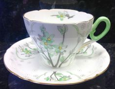 Shelley-Cambridge-Shape-Blossom-Pattern-Coffee-cup-Saucer