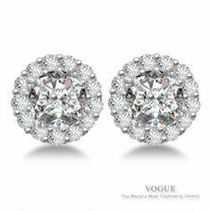 Simple and Stunning Diamond Stud Earrings