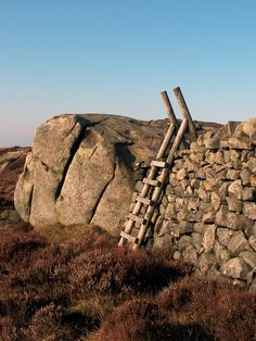 Dry stone wall and stile - Skipton, North Yorkshire by wilkinsonsg