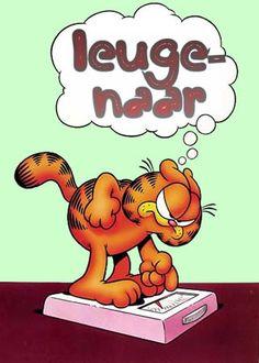Garfield en zijn gewicht