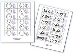 Time to learn about reading clocks! Download free games, worksheets, and more to teach kids a.m. and p.m. basics.