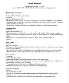 Professional Sales Resume Examples 8 Best Sales Resume Tips Images On Pinterest  Resume Tips Job .