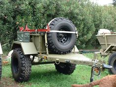 Off Road Trailer - Mil Spec M8 Military Trailer - Pirate4x4.Com : 4x4 and Off-Road Forum