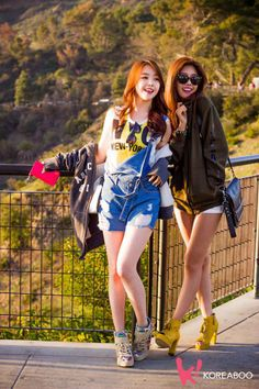 Girl's Day Minah and Sojin