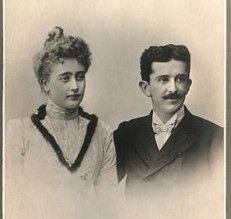 Crown Princess Militza and Crown Prince Danilo