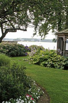 Seaside gardens, Cape Cod