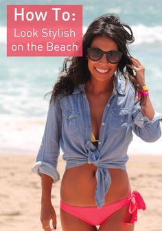 Click to find out the best ways to stay fashionable on the beach this summer!