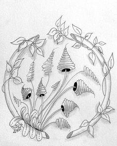 Zenuari day 4 - Frame part 3. I couldn't stop myself, so I did three pieces on this theme.  #zenuari2016 #zenuari #zentangle #zentangleart #zendoodle #doodle #penart #penandink #blackandwhite #Arts Design #Zenuari2016 #Zenuari #Zentangle #Zentangleart #Zendoodle