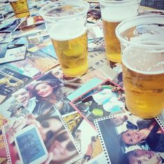 #Printic team having a good time enjoying last sunny days in #Paris ! #printeam #apero #pictures #beers