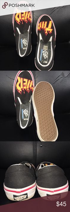 590337d1b02 THRASHER VANS🔥🔥😍 THRASHER VANS🔥🔥🔥 In good condition with little  creasing