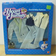 The Heart Family Dad and Baby Set