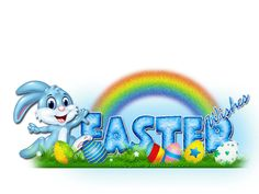 A Seasonal image from glitter-graphics.com - Easter Wishes!